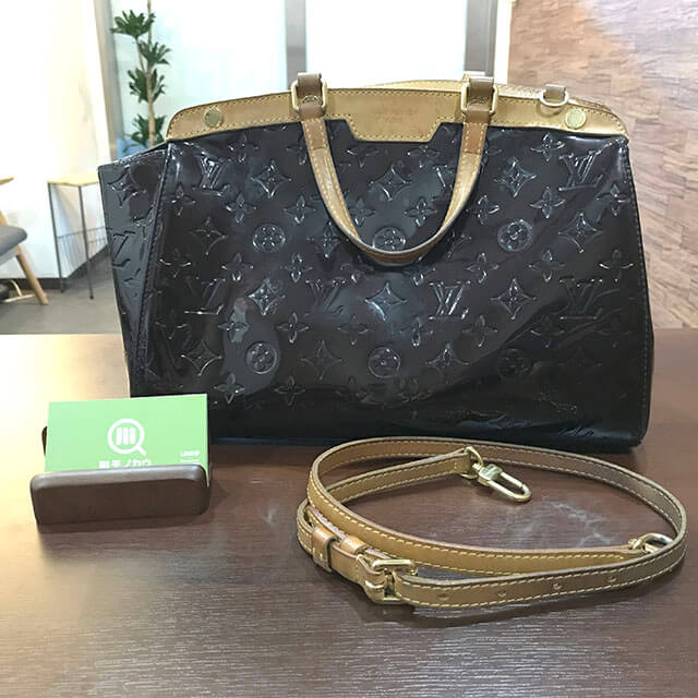 今里のお客様からヴィトンのヴェルニの2wayバッグ【ブレア】を買取_01