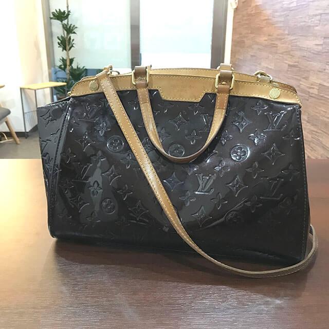 今里のお客様からヴィトンのヴェルニの2wayバッグ【ブレア】を買取_02