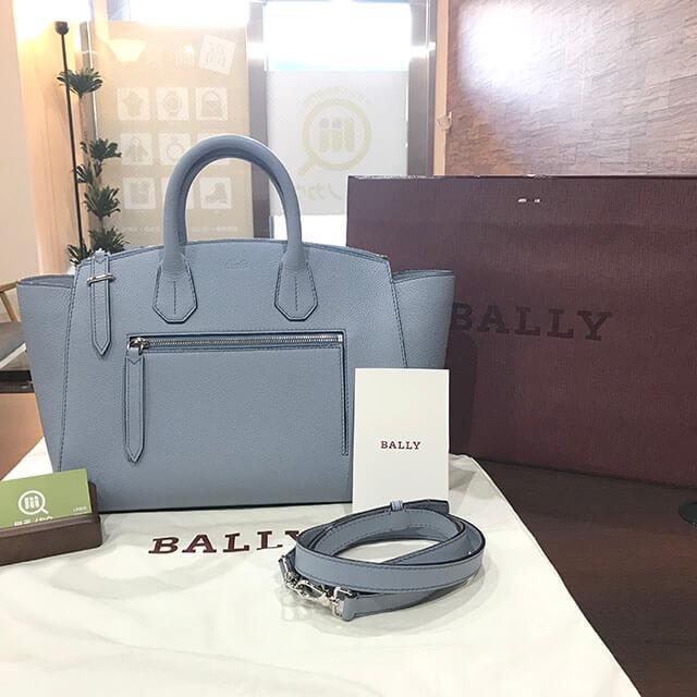 尼崎のお客様からバリーのバッグ【SOMMET(ソメ)】を買取_01