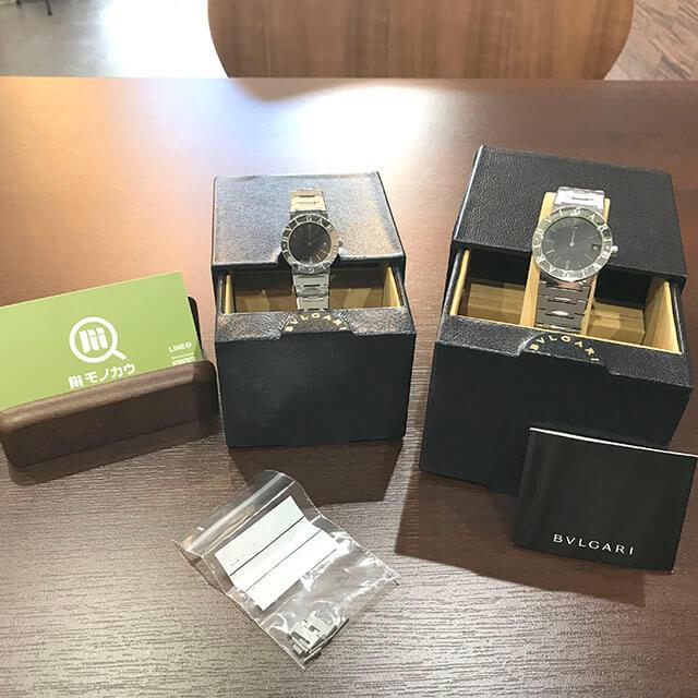 鶴見のお客様からブルガリの腕時計【ブルガリブルガリ】を買取_02