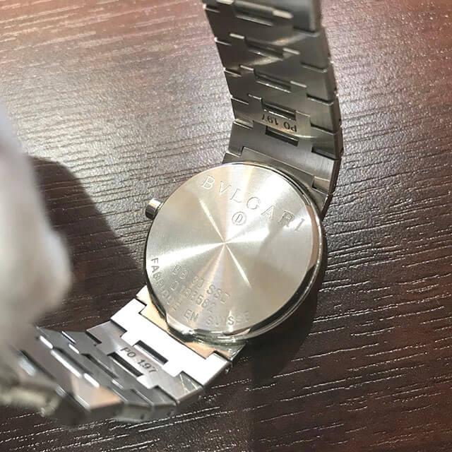鶴見のお客様からブルガリの腕時計【ブルガリブルガリ】を買取_03