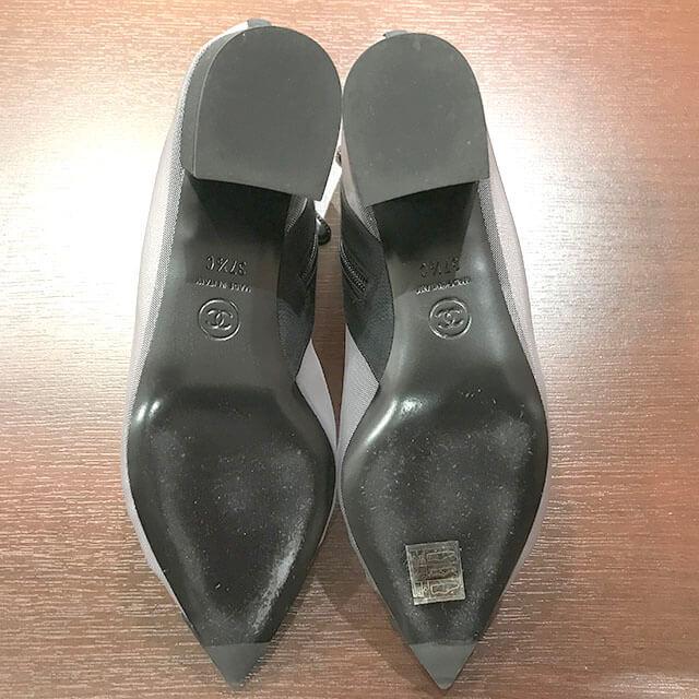 東大阪のお客様からシャネルの2019年春夏新作のショートブーツを買取_03