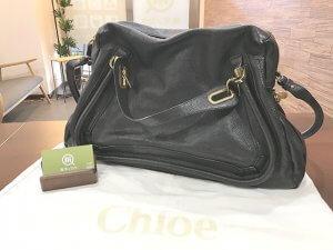 大阪玉造店にてクロエのバッグ【パラティ】を買取