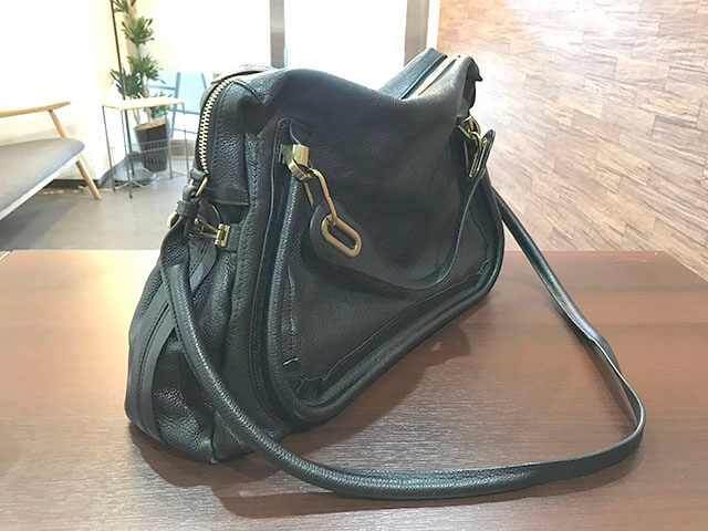 大阪玉造店にてクロエのバッグ【パラティ】を買取_04