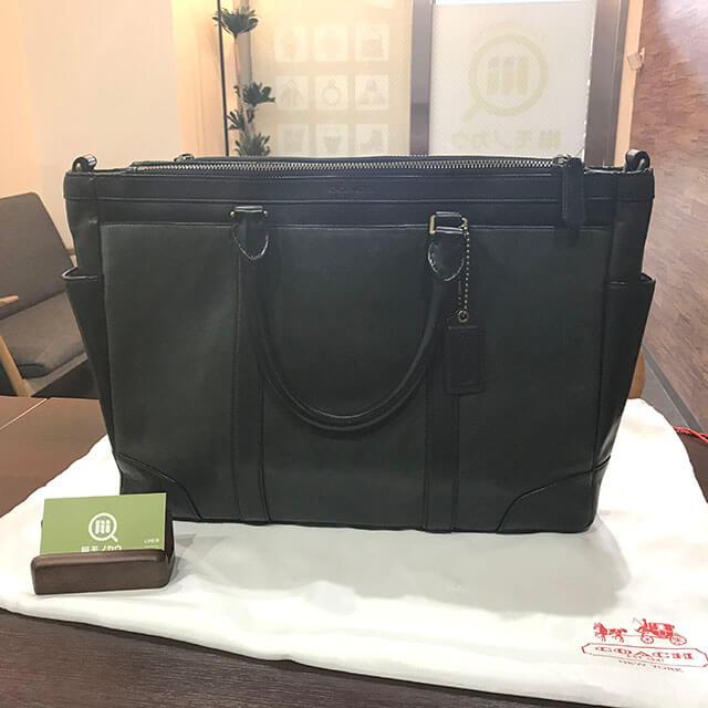 蒲田のお客様からコーチの【ブリーカー メトロポリタン】2wayバッグを買取_01