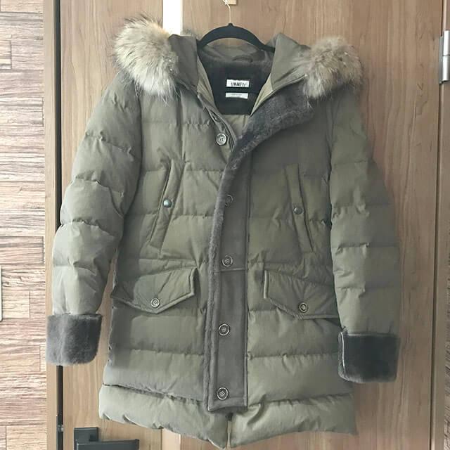 芦屋のお客様からEMMETI(エンメティ)のコートを買取_01