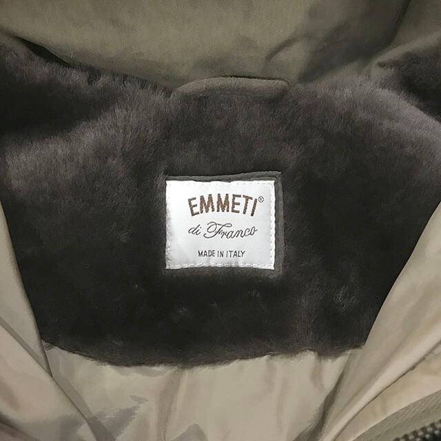 芦屋のお客様からEMMETI(エンメティ)のコートを買取_03