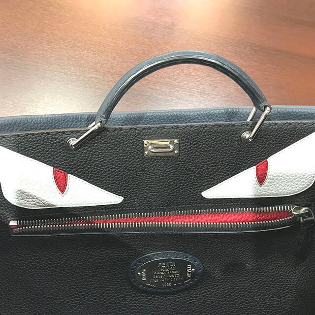 芦屋のお客様からフェンディの【ピーカブー】2wayバッグを買取_04