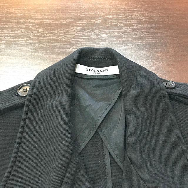 芦屋のお客様からジバンシイのコートを買取_03