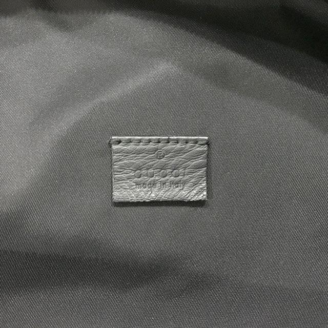 深江橋のお客様からグッチのシマラインのウエストバッグを買取_04