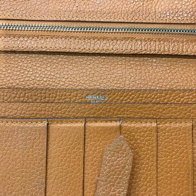 深江橋のお客様からエルメスの長財布【ベアン】を買取_04