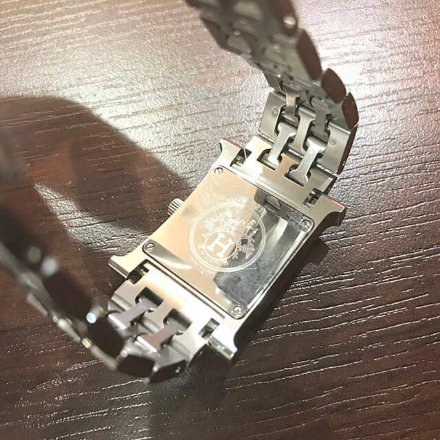 香里園のお客様からエルメスの腕時計【Hウォッチ】を買取_03