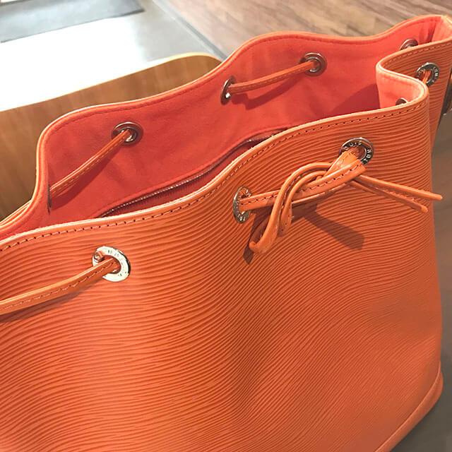 香里園のお客様からヴィトンの巾着バッグ【ノエ】を買取_04