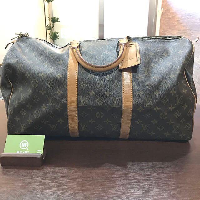 緑橋のお客様からヴィトンのボストンバッグ【キーポル50】を買取_01