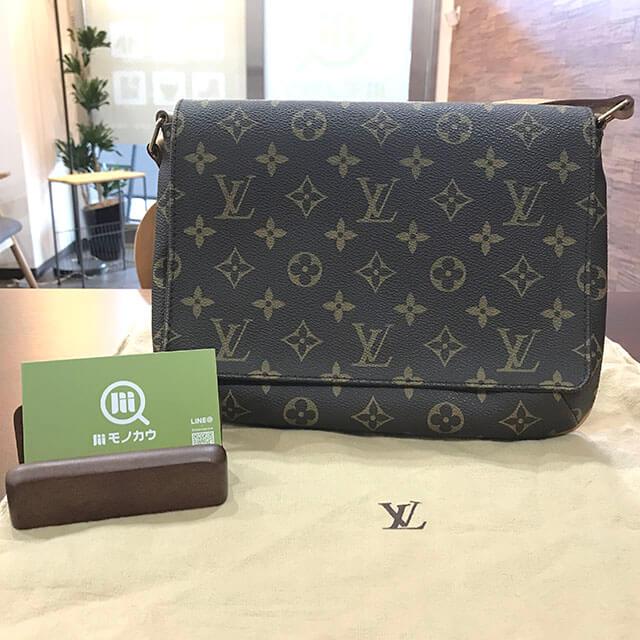 枚方のお客様からヴィトンのバッグ【ミュゼットタンゴ】を買取_01