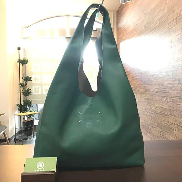 芦屋のお客様からマルジェラのバッグを買取_01