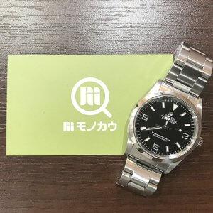 住ノ江のお客様からロレックスの腕時計【エクスプローラー1】を買取