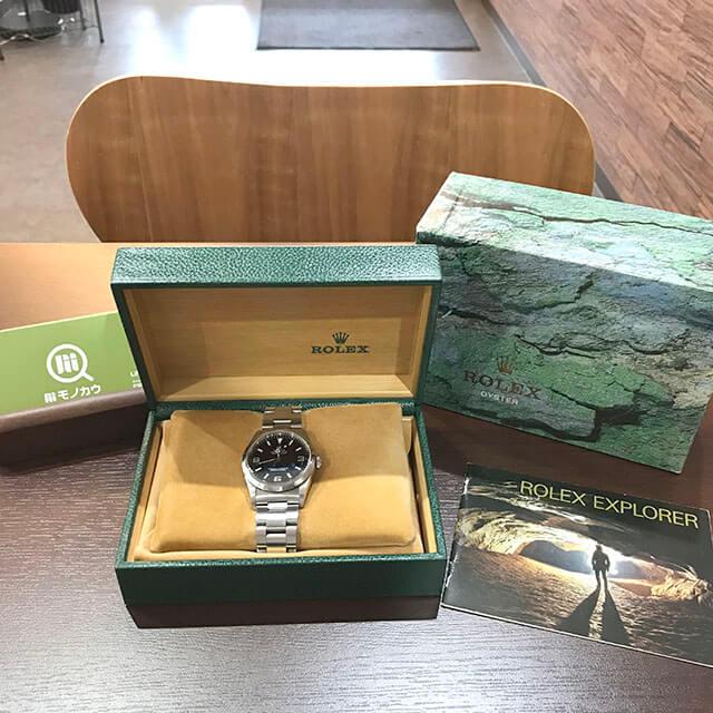 住ノ江のお客様からロレックスの腕時計【エクスプローラー1】を買取_02