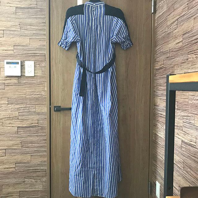 芦屋のお客様からサカイ(sacai)の2018年コレクションのシャツワンピースを買取_02