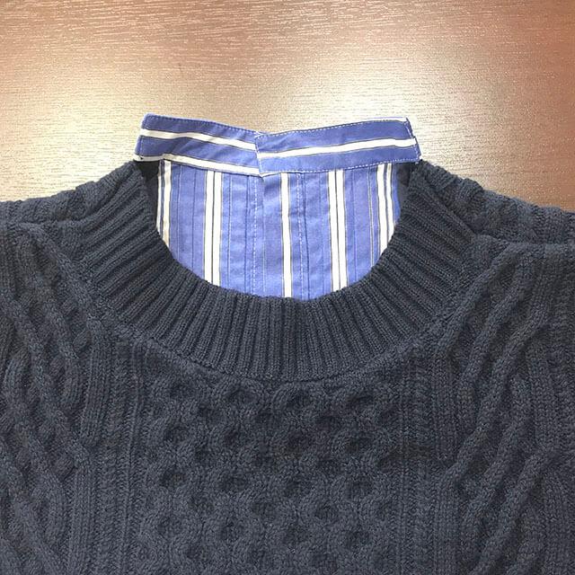 芦屋のお客様からサカイ(sacai)の2018年コレクションのシャツワンピースを買取_03