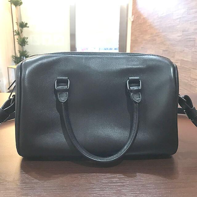 難波(なんば)のお客様からサンローランのバッグ【ベイビーダッフル】を買取_02