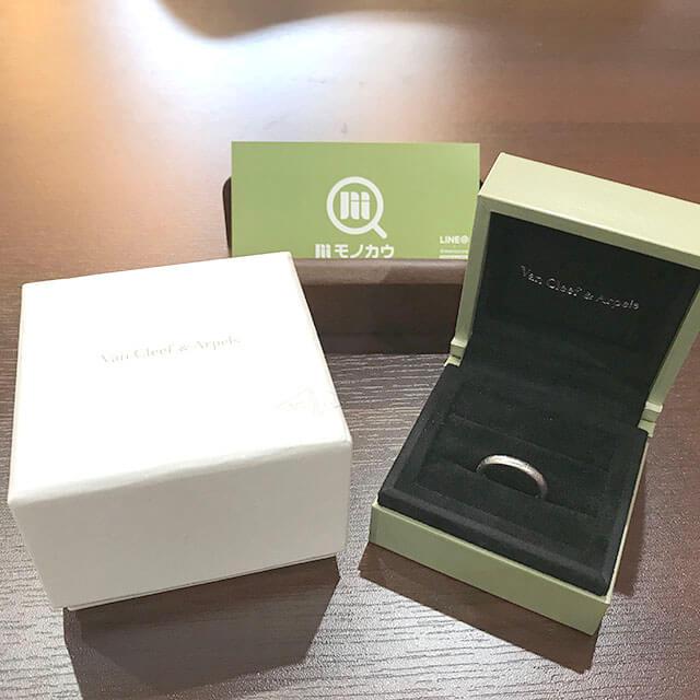 大阪玉造店にてヴァンクリーフ&アーペルの指輪【アンフィニシニアチュール リング】を買取_01
