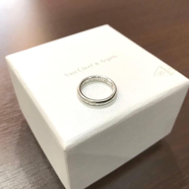 大阪玉造店にてヴァンクリーフ&アーペルの指輪【アンフィニシニアチュール リング】を買取_04