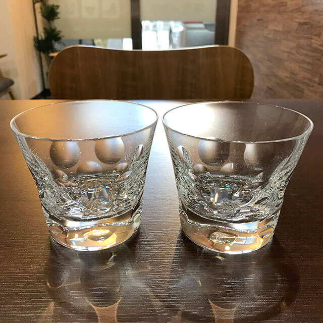 出張買取にて福島のお客様からバカラのロックグラス【ベルーガ】を買取_02
