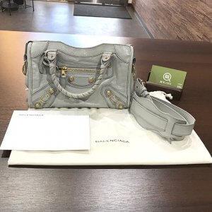 森ノ宮のお客様からバレンシアガのバッグ【ジャイアント・ミニシティ】を買取