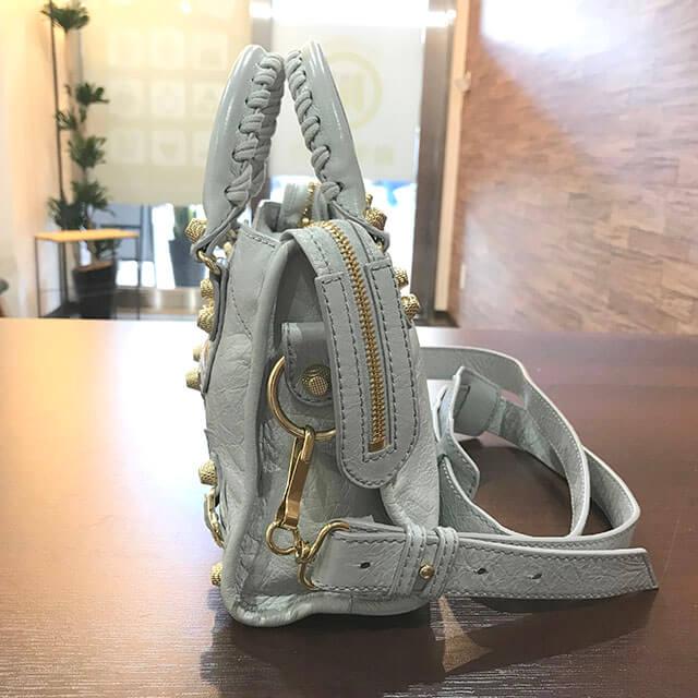 森ノ宮のお客様からバレンシアガのバッグ【ジャイアント・ミニシティ】を買取_03