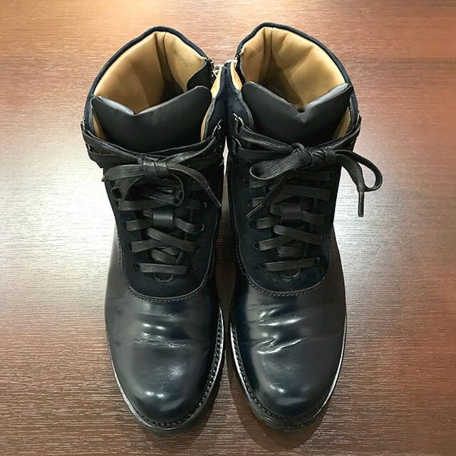 梅田のお客様からベルルッティのブーツを買取_02