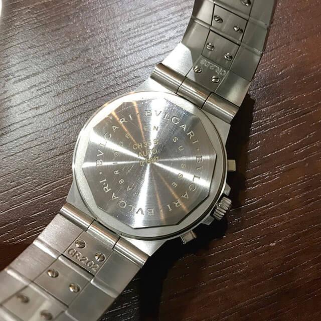 天王寺のお客様からブルガリの腕時計【ディアゴノ スポーツ】を買取_03