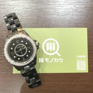 生野のお客様からシャネルの腕時計【J12】を買取