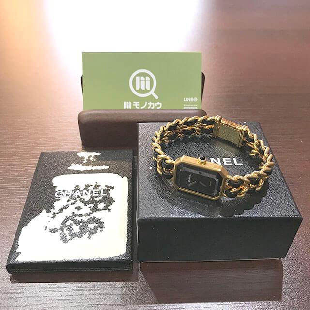 枚方のお客様からシャネルの腕時計【プルミエール】を買取_01