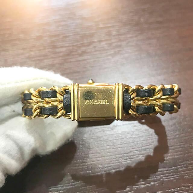 枚方のお客様からシャネルの腕時計【プルミエール】を買取_03