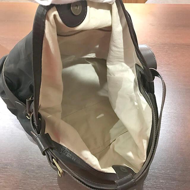福島のお客様からフェリージのバッグを買取_04