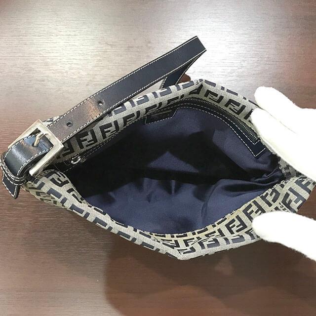 出張買取にて北見のお客様からフェンディのバッグ【マンマバケット】を買取_04