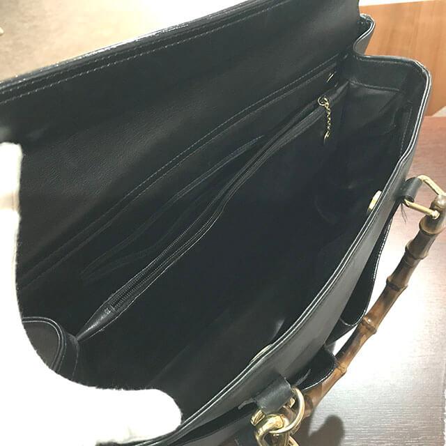 鶴見のお客様からグッチのバンブー2wayバッグを買取_02