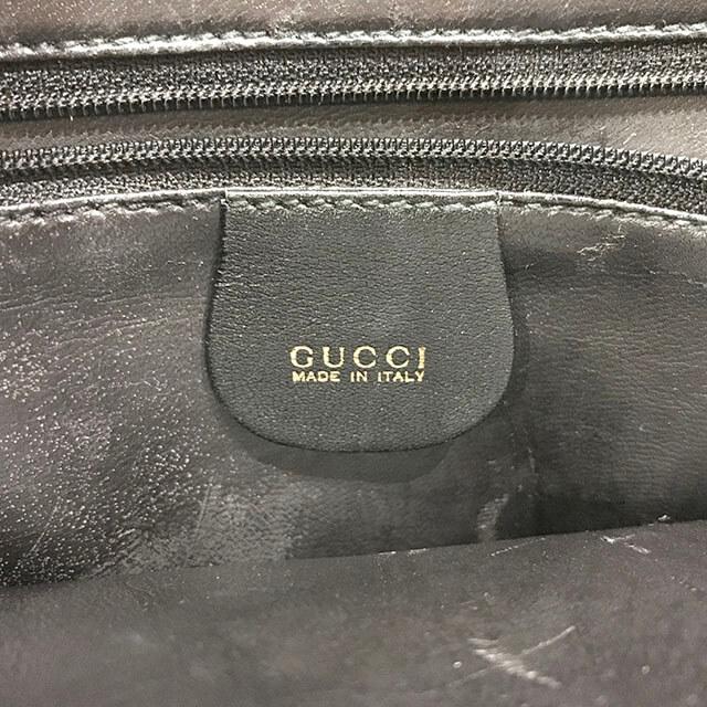 鶴見のお客様からグッチのバンブー2wayバッグを買取_04