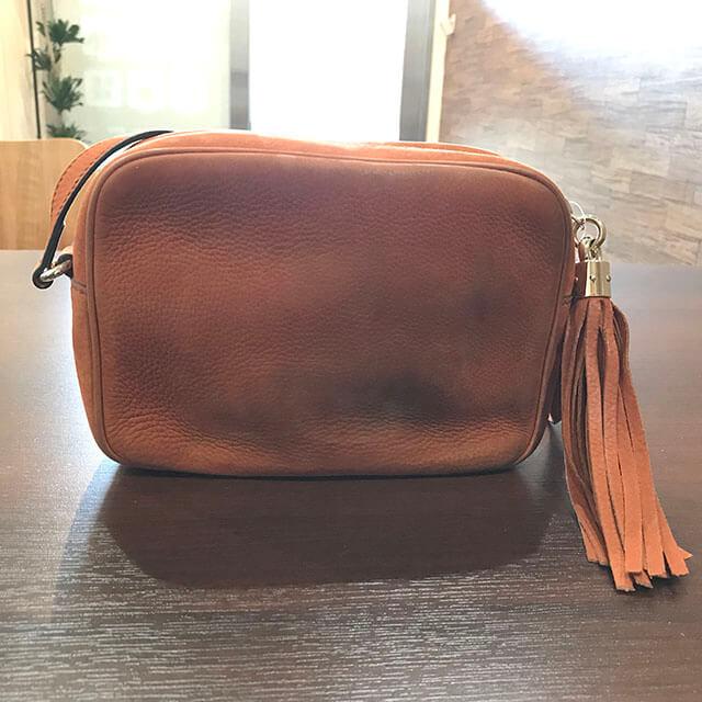 出張買取にて北見のお客様からグッチのバッグ【ソーホー】を買取_02