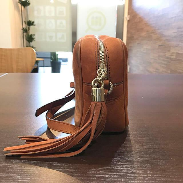 出張買取にて北見のお客様からグッチのバッグ【ソーホー】を買取_03