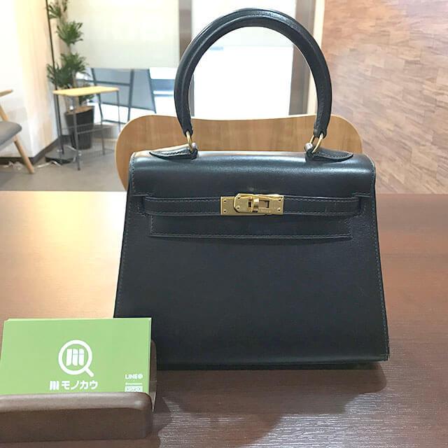 大阪のお客様からエルメスのバッグ【ミニケリー】を買取_01