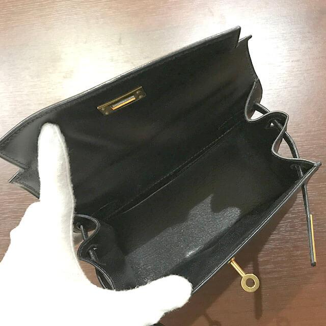 大阪のお客様からエルメスのバッグ【ミニケリー】を買取_03
