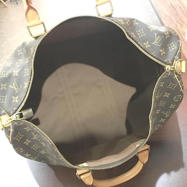 岸和田のお客様からヴィトンのボストンバッグ【キーポルバンドリエール】を買取_04