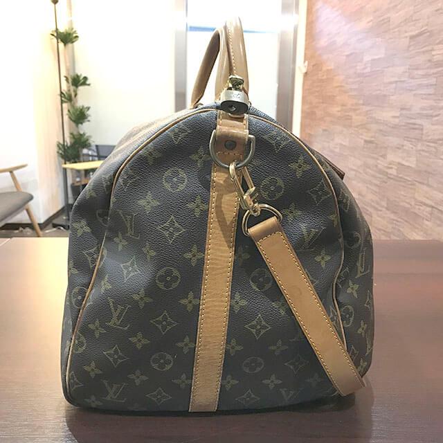 枚方のお客様からヴィトンのボストンバッグ【キーポル・バンドリエール55】を買取_02