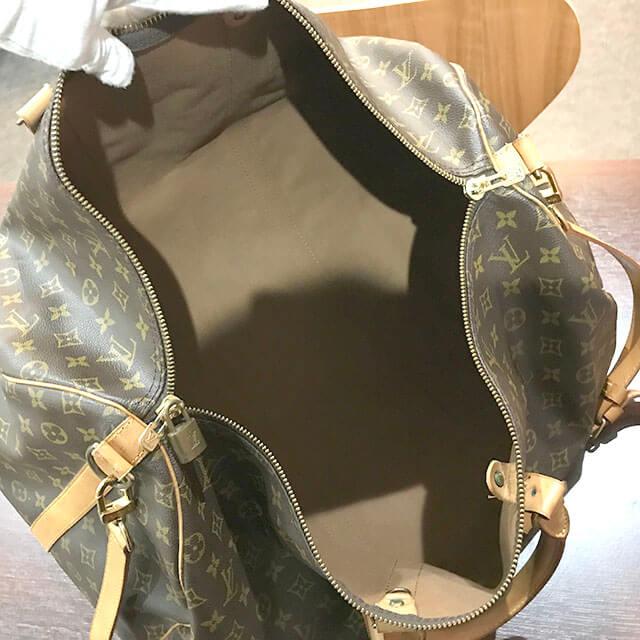 枚方のお客様からヴィトンのボストンバッグ【キーポル・バンドリエール55】を買取_03