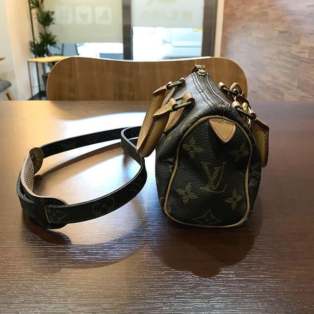 今里のお客様からヴィトンのバッグ【ミニスピーディ】を買取_02