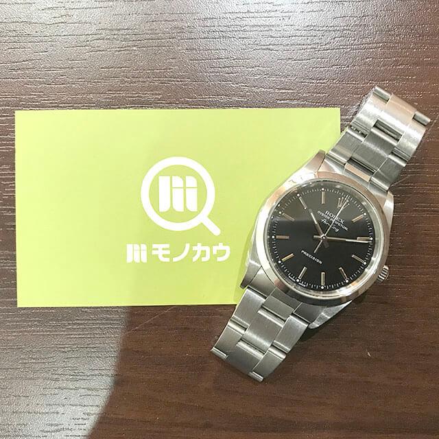 名古屋のお客様からロレックスの腕時計【エアキング】を買取_01