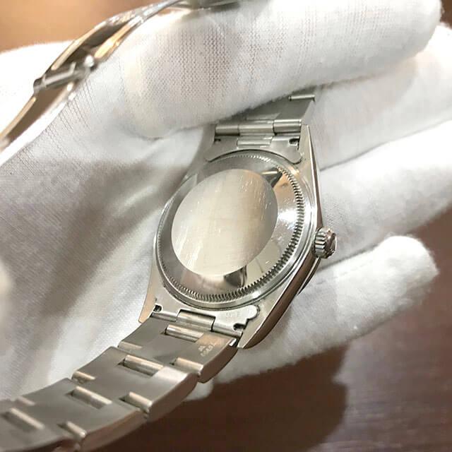 名古屋のお客様からロレックスの腕時計【エアキング】を買取_02