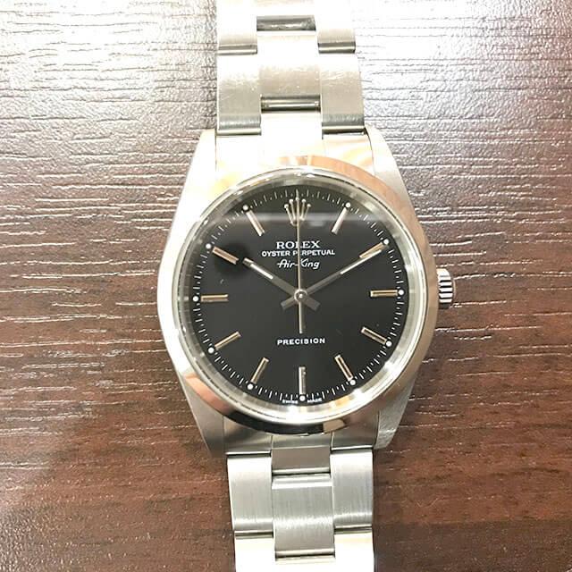 名古屋のお客様からロレックスの腕時計【エアキング】を買取_04